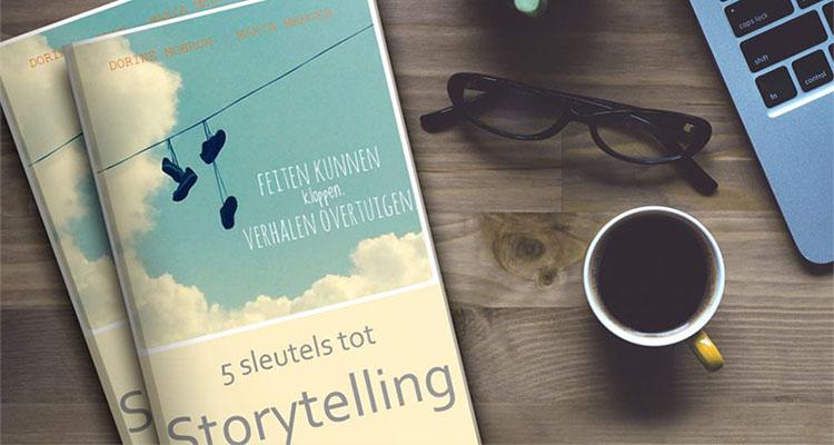 Foto van het e-book '5 sleutels tot Storytelling' door Dorine Mobron & Maria Menger